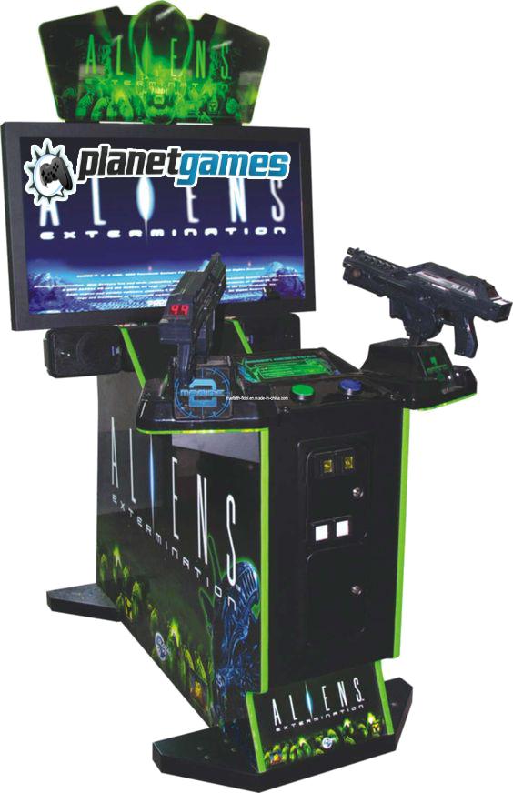 Aliens oyun makinesi
