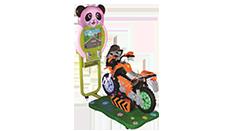 Motor Yarışı Kiddie Rides