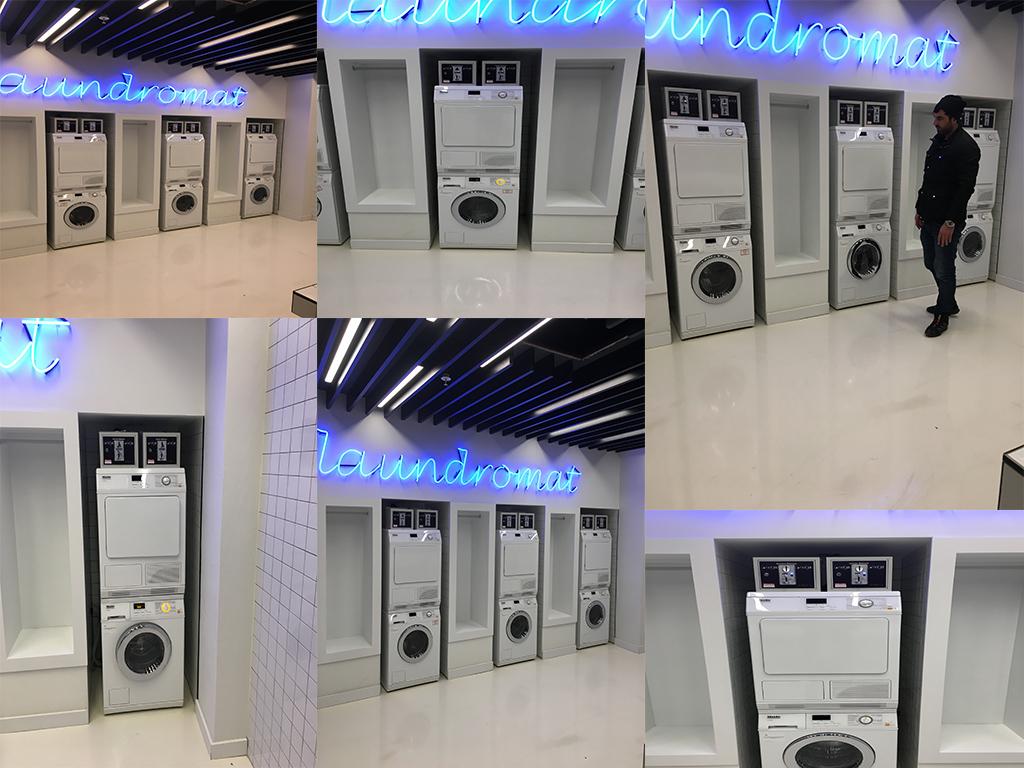 Parayla Çalışan Çamaşır Makinası